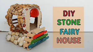 diy fairy house from stones 1 easy how to make backyard
