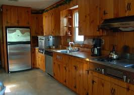 modern kitchen with unfinished pine cabinets durable pine 25 best knotty pine images on pinterest knotty pine kitchen