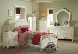 Girls Full Bedroom Sets by Homelegance 1386f 1 Cinderella White 4 Pieces Girls Full Poster