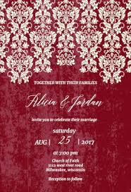 Wedding Invitation Sample Free Printable Wedding Invitation Templates Greetings Island