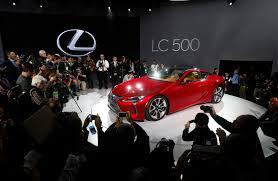 lexus lc 500 akio toyoda lexus introduces 100 000 sports coupe to burnish image the