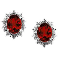 garnet earrings garnet earrings garnet stud earrings garnet hoop earrings from