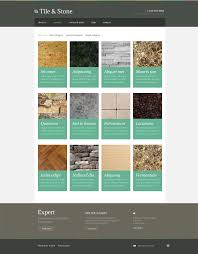 website template 48395 tile stone natural custom website template