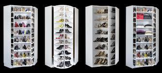 shoe organizer plus closets 360 organizer shoe spinner built in rotating shoe