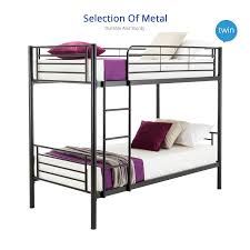 Sturdy Metal Bunk Beds Mecor Metal Bunk Beds Frame