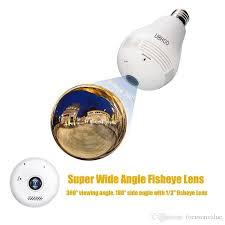 motion detector light with wifi camera wifi p2p l bulb dvr ip camera hd 960p 360 degree globe panorama