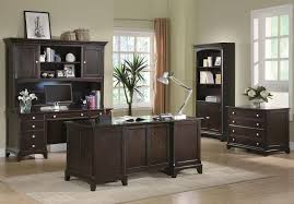 Double Pedestal Desk With Hutch by Coaster Fine Furniture 801012 Garson Double Pedestal Desk With 7