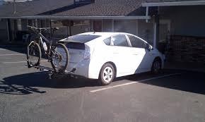 toyota prius bike rack 2 hitch on a 2010 prius mtbr com