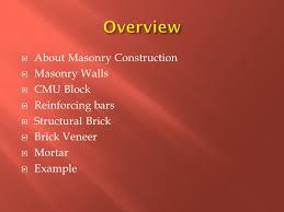 Construction Estimating Classes by Construction Cost Estimating Class 7 Masonry Prof Ralph V