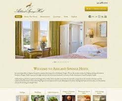 hotel website design best practice and design examples