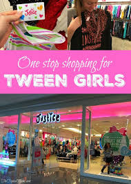 justice at the mall one stop shopping for tween the typical