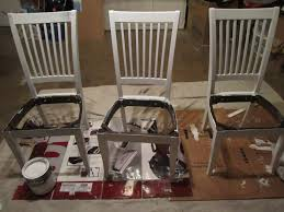 recover dining chair back how to reupholster a dining chairhow to