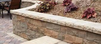 brisa textured stone segmental retaining wall blocks