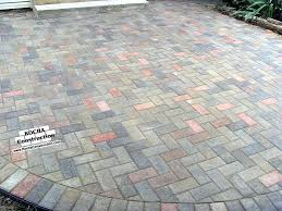 Cost Paver Patio Inspirational Paver Patio Cost And Concrete Patio 19 Diy Paver