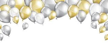 silver balloons gold and silver balloons royalty free stock photography image