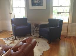 Leather Accent Chairs For Living Room Modern Accent Chair With Navy Blue Color Design For Living Room