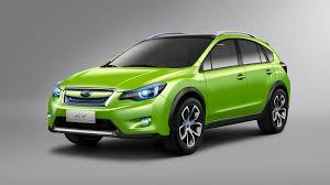 subaru sage green subaru xv auto review