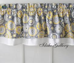 kitchen curtain valances ideas yellow and gray kitchen curtains modern endearing yellow kitchen