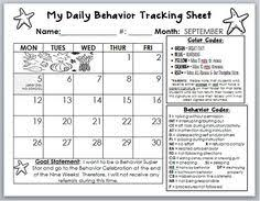 fourth and ten motivating students with behavior calendars and