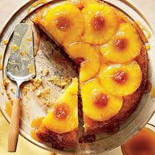 honey pineapple upside down cake recipe myrecipes