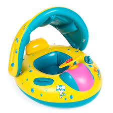 Inflatable Pool Target Amazon Com Baby Pool Floats With Canopy Swim Ring Inflatable Pool