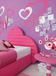 bedroom minimalist decorating for idea with pink wall and