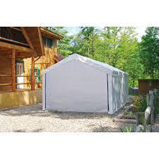 Tarp Canopy Kits by Max Ap 10 U0027 X 20 U0027 White Canopy Enclosure Kit Fits 1 3 8