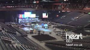 x factor live time lapse stage build at lg arena birmingham youtube