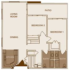 60 Best Two Bedroom House Plans House Plans Design 2018