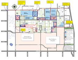 denver schools map contact us department of medicine of colorado denver