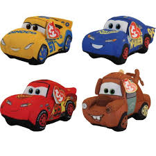 ty beanie babies cars 3 set of 4 cruz mater hero u0026 fabulous