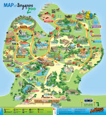 Singapore Map World by Singapore Zoo Ticket Price Entrance Fee Opening Hours U0026 Map