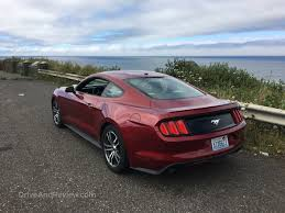 review of 2015 mustang review 2015 ecoboost mustang driveandreview