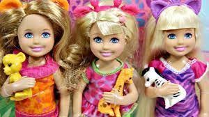 safari chelsea dolls collection kolekcja lalek chelsea na safari
