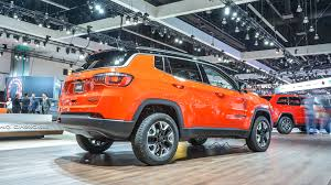orange jeep compass 2017 jeep compass la 2016 motor1 com photos