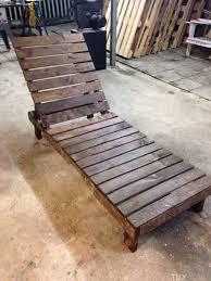 chaise longue palette 22 idées créatives pour recycler des palettes palette diy palette