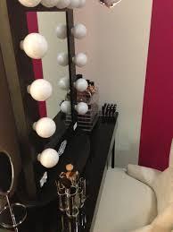 Light Up Vanity Table Hollywood Lights Makeup Mirror Mugeek Vidalondon
