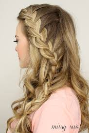 up side french braid
