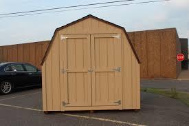 Gambrel Pole Barn Premium 8 U0027x16 U2032 Gambrel Storage Shed With A Great Price Premium