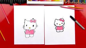 draw kitty art kids hub