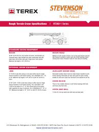 terex rt 335 crane machine transmission mechanics