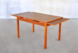 extendable rectangle wooden dining table for small space decofurnish