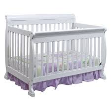 Davinci Kalani 4 In 1 Convertible Crib by Sleigh Cribs For Babi Bayb