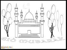 eid coloring arabic playground eid activities