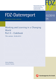 working and learning in a changing world part ii codebook pdf