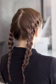 double french plaits