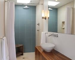Duck Egg Blue Bathroom Tiles 35 Large Blue Bathroom Tiles Ideas And Pictures