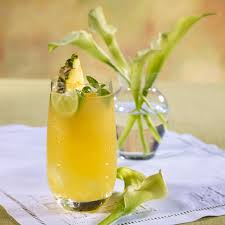 pineapple martini recipe aloha screwdriver beverage recipes dole packaged foods