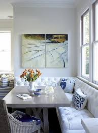 Dining Room Banquette Seating House Tour Charming And Sophisticated Rowhouse
