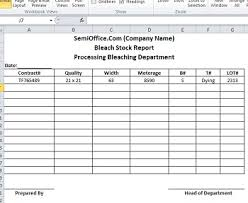 stock report template excel excel formats for stock fieldstation co